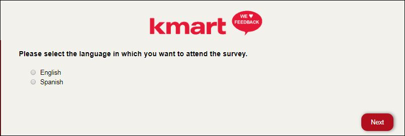 kmart survey