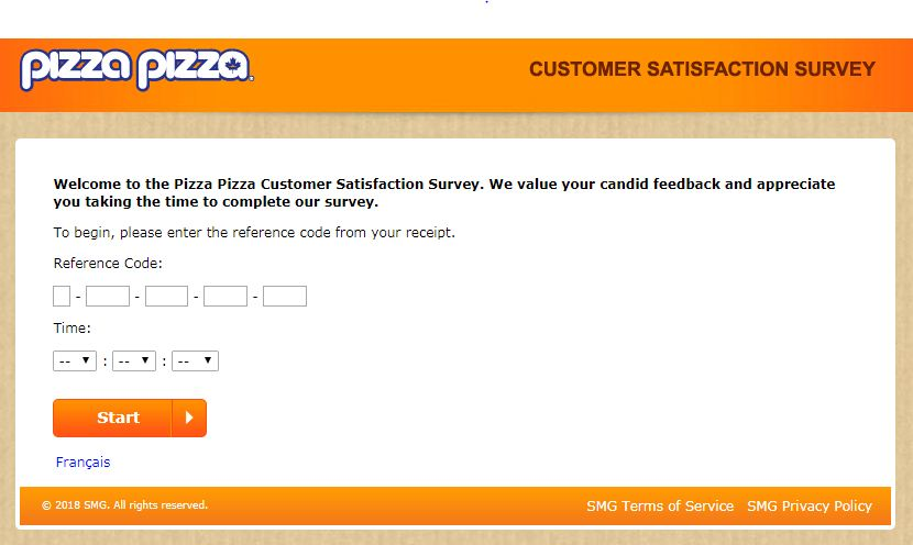 pizza survey