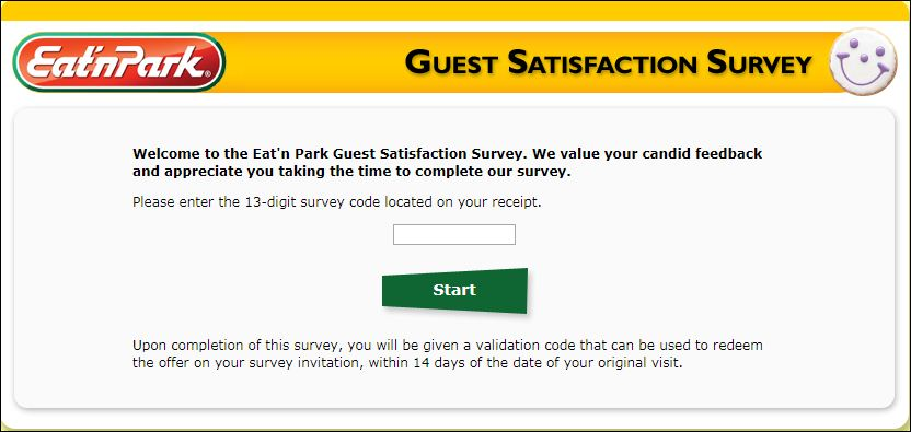 eat n perk survey