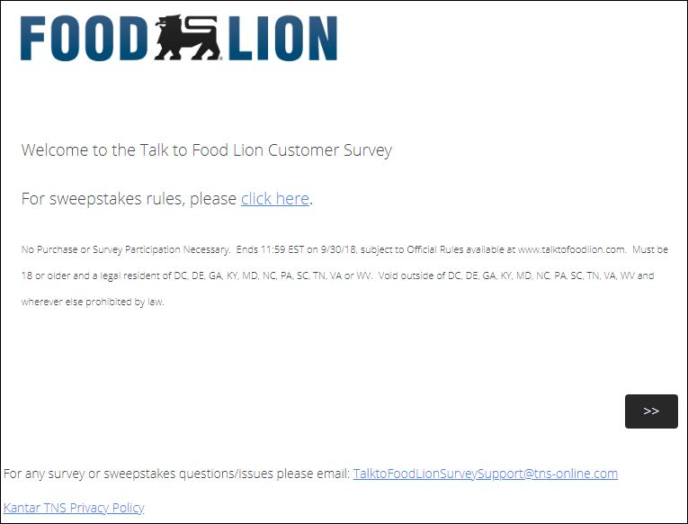 food line survey