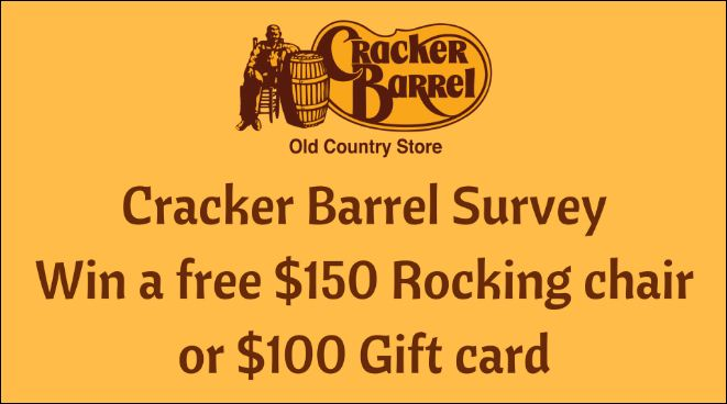Cracker Barrel Customer Survey rewards