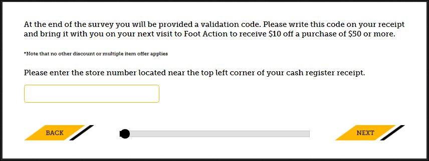 Foot Action Survey