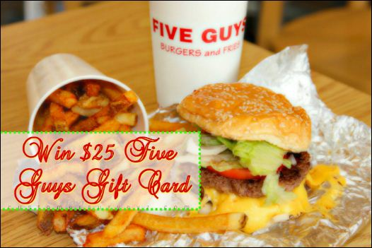 five guys rewards program