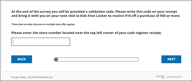 kids foot locker store
