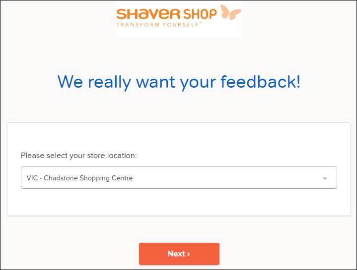 shaver shop customer satisfaction survey