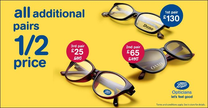 boots opticians store
