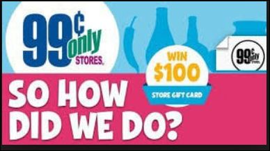 99 Cents Only Stores Rewards