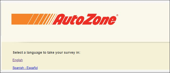 Autozone Customer Feedback Survey
