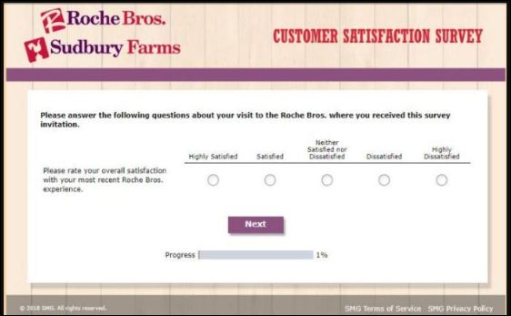 Roche Bros customer experience survey