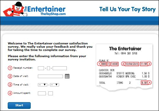 The Entertainer Customer Survey