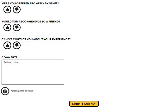 Which Wich Guest Experience Survey
