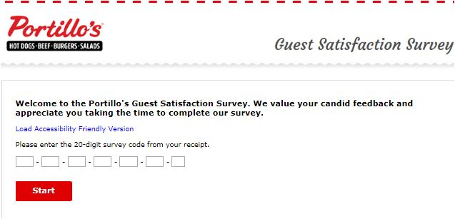 Portillo's Customer Satisfaction Survey