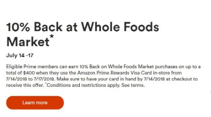 Whole Foods customer experience survey