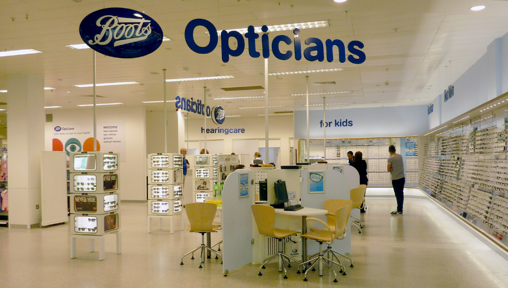Boot Opticians Sweepstakes.