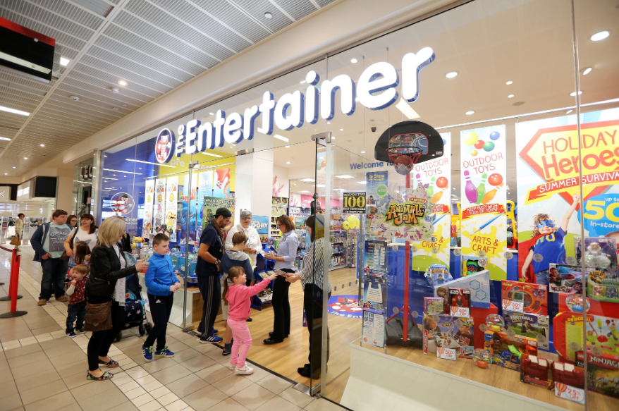 The Entertainer Toy Shop guest Satisfaction Survey